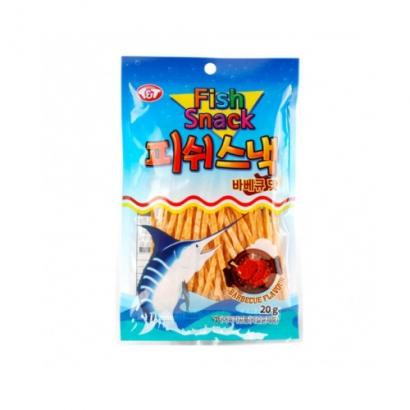 바베큐맛 피쉬스낵 20g*5봉입 x 1팩