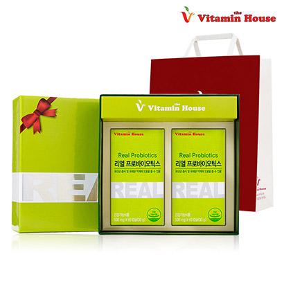 [비타민하우스] (후기입증) 리얼프로바이오틱스 2병+전용박스+쇼핑백 (업체별도 무료배송)