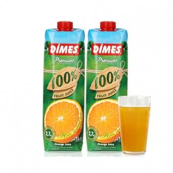 디메스 프리미엄 100% 오렌지주스 1L x 6팩 (업체별도 무료배송)