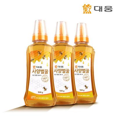 [대웅] 사양벌꿀 500g x 3병 (업체 별도 무료배송)