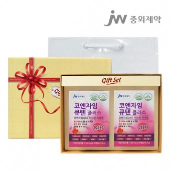 [선물세트] 중외제약 코엔자임 큐텐플러스 30정*2개입 x 1박스 (업체별도 무료배송)
