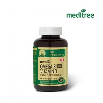 메디트리 오메가3 1100 비타민D 1204mg*180캡슐 (업체별도 무료배송)