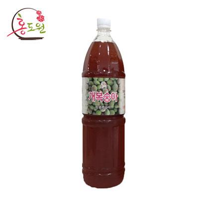 홍도원 개복숭아 원액 PET 1.8L (업체별도 무료배송)
