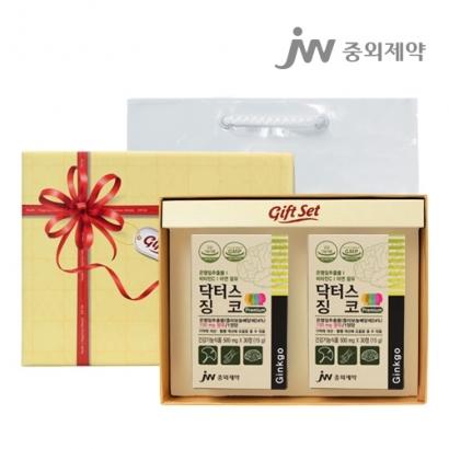 [중외제약] 닥터스징코 500mg*30정 x 2박스 (업체 별도 무료배송)