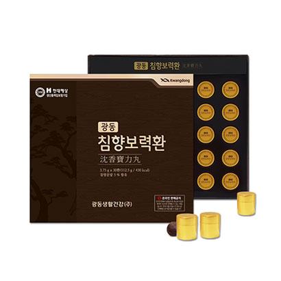 광동 침향보력환 3.75g x 30환 + 쇼핑백증정 (업체별도 무료배송)