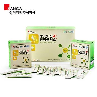 상아제약 리얼콜라겐 뷰티플러스 20ml x 30포 (업체별도 무료배송)