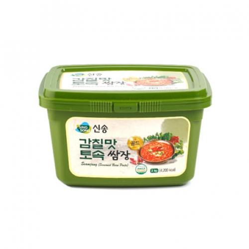 [신송식품] 감칠맛 토속 쌈장 2kg