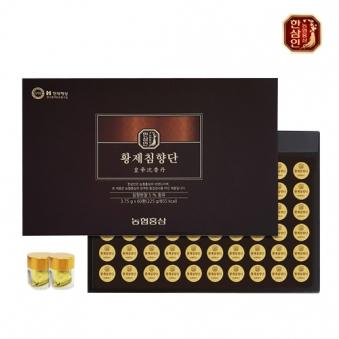 (마지막 300개) 한삼인 농협홍삼 황제침향단 3.75g x 60환 (업체별도 무료배송)
