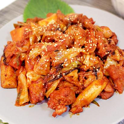 신선한 한입 닭갈비 1kg*2개 (업체별도 무료배송)