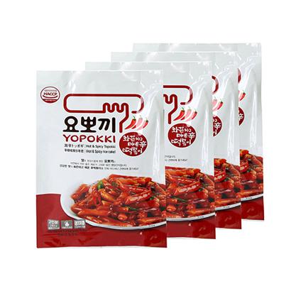 [요뽀끼] 매운맛 파우치 280g x 5봉 (10인분) (업체별도 무료배송)