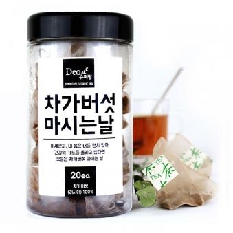 슈퍼팜 차가버섯 마시는날 20T (업체별도 무료배송)