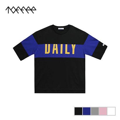 [TOFFEE] 베스트후기 재판매 DAILY 오버핏 7부 티셔츠 (업체별도 무료배송)