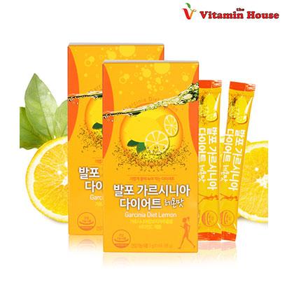 [비타민하우스] 발포 가르시니아 다이어트 레몬맛 7g*14포 x 2박스 (업체별도 무료배송)