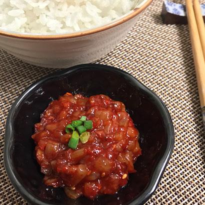 비빔 오징어젓갈 1kg (업체별도 무료배송)