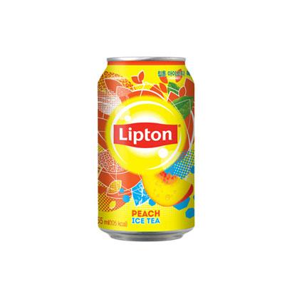 [다다익선] [롯데칠성] 립톤 아이스티 복숭아 355ml x 24개 (업체별도 무료배송)