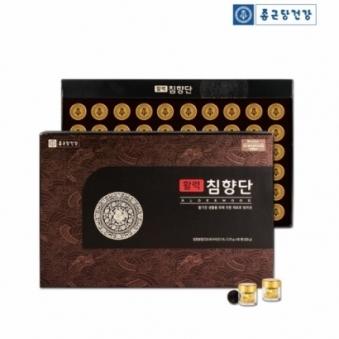 종근당 활력 침향단 3.75g*60환 + 쇼핑백포함 (업체별도 무료배송)
