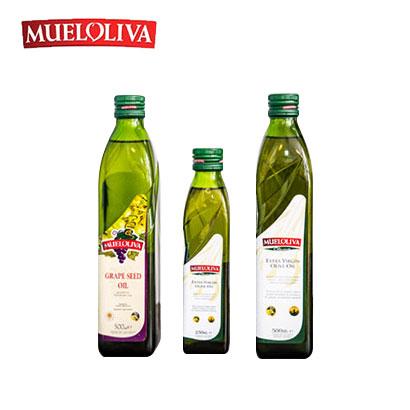 무엘올리바 포도씨유 및 올리브유 3종 세트(포도씨유500ml+클라시카500ml+피꾸다250ml) (업체별도 무료배송)