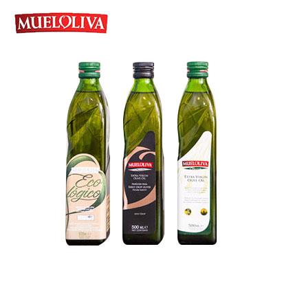 무엘올리바 올리브유 3종 세트(클라시카500ml+피꾸다500ml+에코로지코유기농500ml) (업체별도 무료배송)