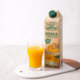순수 생과일 착즙 돈시몬 오렌지 주스 1L*6팩 (업체별도 무료배송)