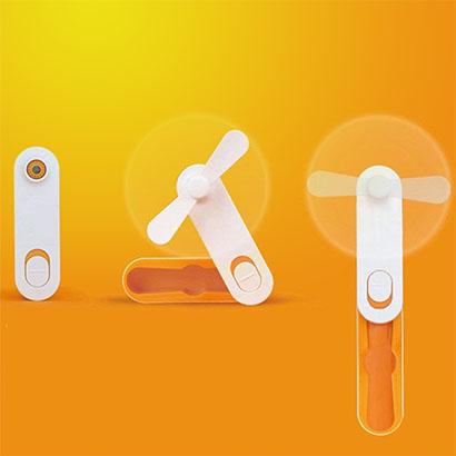 휴대용 무선 포켓 선풍기 LIF-001S (오렌지,블랙 색상 中 택1) (업체별도 무료배송)
