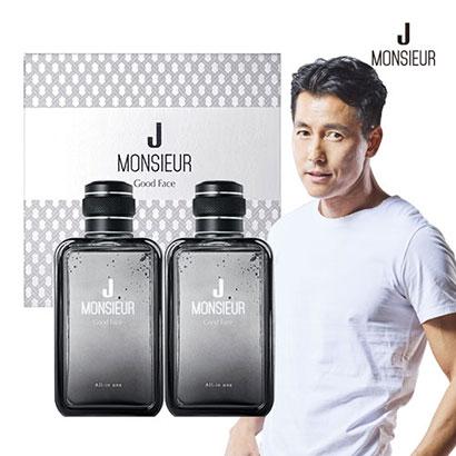 무슈제이 정우성 굿페이스 남성화장품 올인원 2종세트 (업체별도 무료배송)