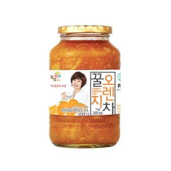 꽃샘 꿀오렌지차 1kg