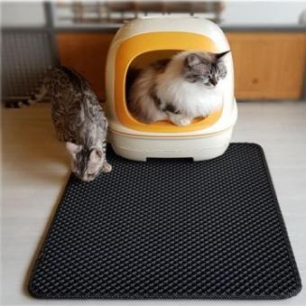 코코리빙 특대형 고양이 모래 매트 (업체별도 무료배송)