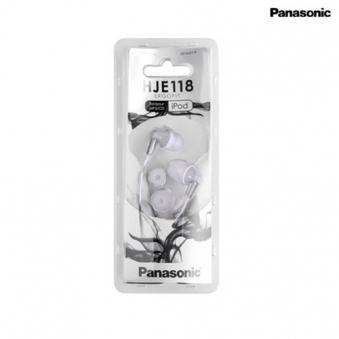 파나소닉 이어폰 HJE-118 화이트 (업체별도 무료배송)