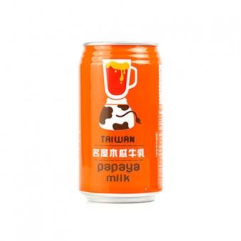 대만 파파야 밀크음료 340ml*24입 (업체별도 무료배송)