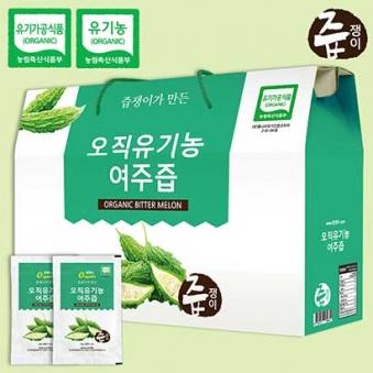 오직유기농 여주즙 80ml*30포 (업체별도 무료배송)