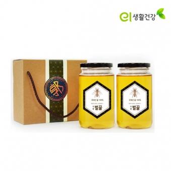 손수 우리 벌꿀 700g x 2개 (사양+사양) (업체별도 무료배송)