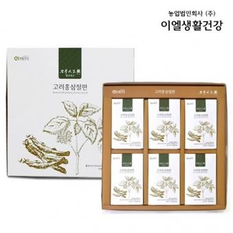 100% 국내산 홍삼절편 1세트 15g*6개 (업체별도 무료배송)