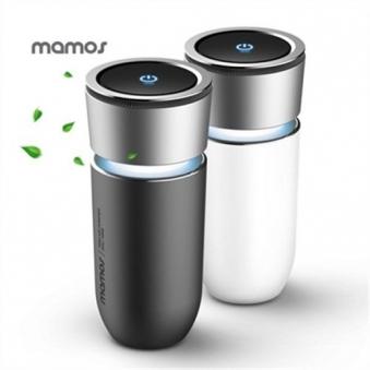 마모스 차량용 음이온 공기청정기 mac-100Q (블랙/화이트 中 택1) (업체별도 무료배송)