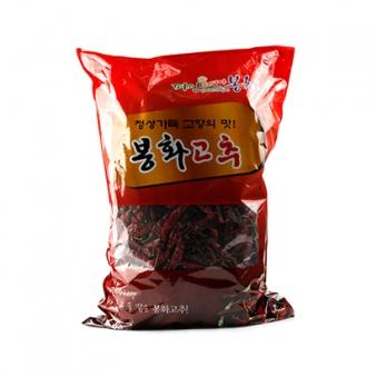 봉화 청양 건고추 1.8kg (업체별도 무료배송)