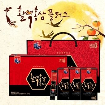 활력 홍삼스틱 플러스 10g*30포+고급쇼핑백증정 (업체별도 무료배송)