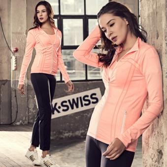 K SWISS 케이스위스 자켓(핑크) (업체별도 무료배송)