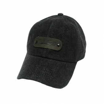 [에잇볼륨] EV Leather Jean Cap (블랙) (업체별도 무료배송)