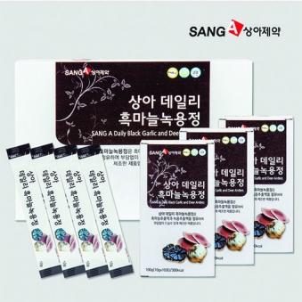 상아제약 데일리 흑마늘 녹용정 10g*30포+쇼핑백증정 (업체별도 무료배송)