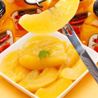 골든 과일 병조림 복숭아 240g