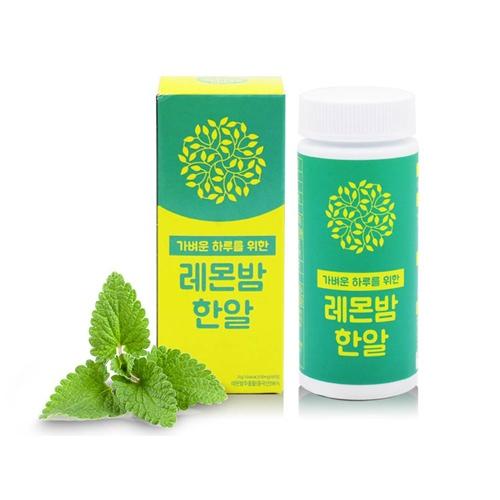 더조은 레몬밤 한알 600 X 60정 1통 (업체별도 무료배송)