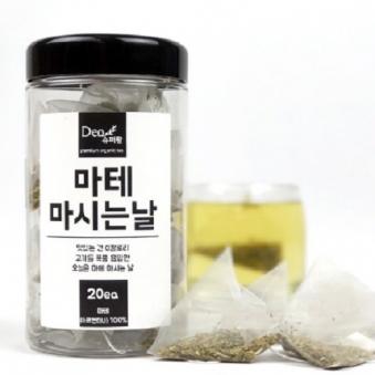 슈퍼팜 티백차 마테 마시는날(20입) (업체별도 무료배송)