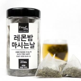 슈퍼팜 티백차 레몬밤 마시는날(20입) (업체별도 무료배송)
