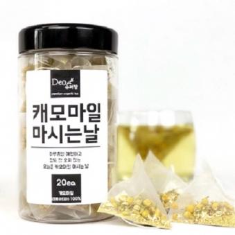 [슈퍼팜] 티백차 캐모마일 마시는날 (20입) (업체별도 무료배송)