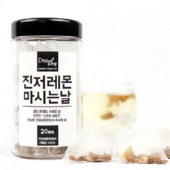 슈퍼팜 티백차 진저레몬후레쉬 마시는날(20입) (업체별도 무료배송)
