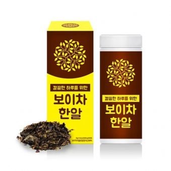 더조은 하루한알 보이차한알 60정(2개월) 1통 (업체별도 무료배송)