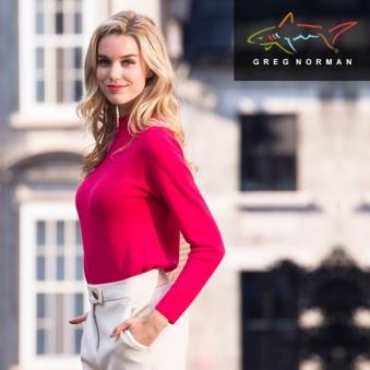 그렉노먼 여성 터틀넥 니트 HWG17KT403(핑크) (업체별도 무료배송)