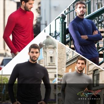 그렉노먼 남성 기모 하프 터틀넥 티셔츠 HMG17TS401 (업체별도 무료배송)