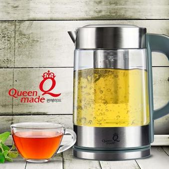퀸메이드 웰빙 티메이커 QTP-700W(티포트/전기주전자) (업체별도 무료배송)