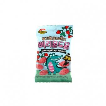 [하루견과] 스쿨넛 베리몬드몬 (딸기밀크아몬드) 15g