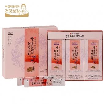 이경제 발효도라지 생강스틱 10g x 30포 (업체별도 무료배송)